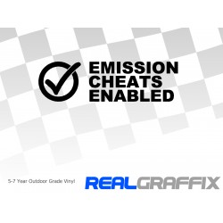 Emissions Cheat Enabled
