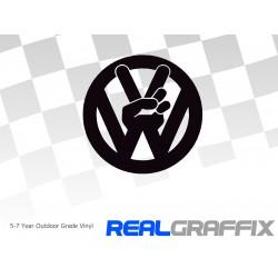 VW Peace Logo XL