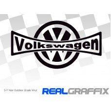 VW Logo with text